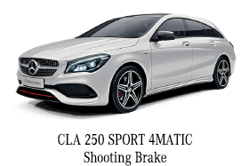 CLA 250 SPORT 4MATIC Shooting Brake