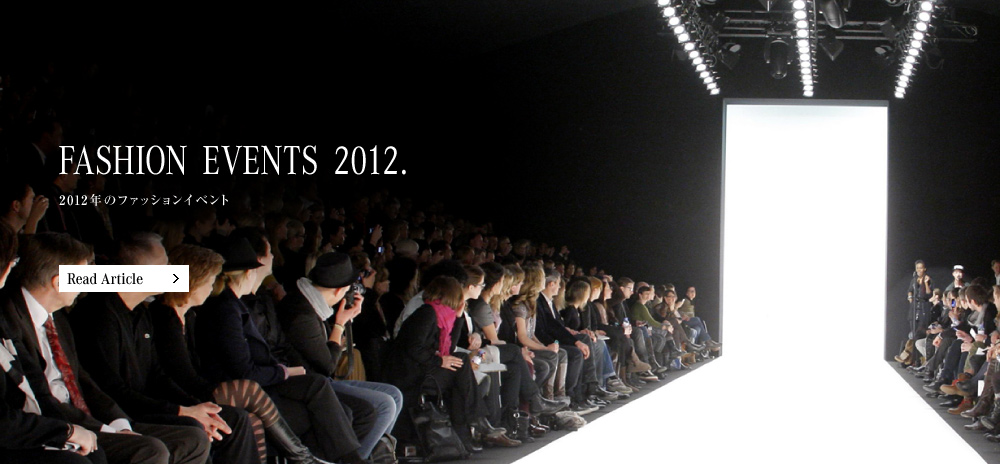 FASHION EVENTS 2012.